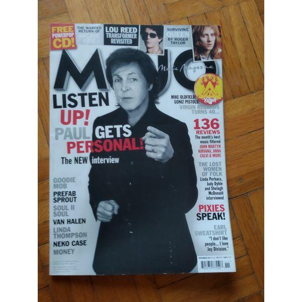 Mojo noemvriou 2013 + cd