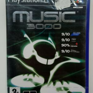 MUSIC 3000 PS2 PLAYSTATION 2 TWO VIDEO GAME EUROPEAN PAL