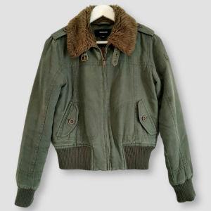Jacket χακί με επένδυση Tally Weijl S/M!