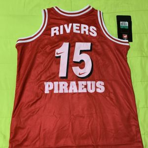 David Rivers Olympiacos 2000-01 jersey Φανέλα Ρίβερς Ολυμπιακός