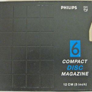 PHILIPS 6 COMPACT DISC MAGAZINE 12CM (5 inch) SBC3590