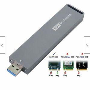 Μετατροπέας εξωτερικού περιβλήματος M.2 σε USB 3.0 NGFF SSD Προσαρμογέας M-key USB PCBA SSD