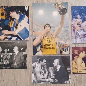 Άρης Θεσσαλονίκης Συλλεκτικές Φωτογραφίες Μπάσκετ