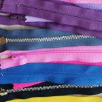 Φερμουάρ διαφορά μεγέθη χρώματα συλλογή