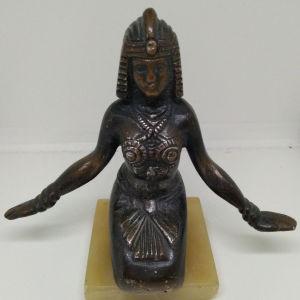 Vintage Αιγύπτια χορεύτρια αγαλματίδιο