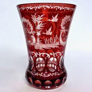 Συλλεκτικό Βάζο Κρύσταλλο Βοημίας - Czech Bohemian Crystal Vase