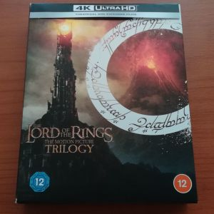 The Lord of the Rings (Ο Άρχοντας των Δαχτυλιδιών) Τριλογία 4K UHD - Extended & Theatrical
