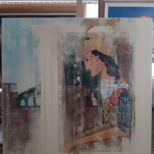 Έργο τέχνης του γνωστού καλλιτέχνη Γιώργου Σιουντα.