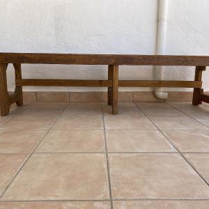 Πάγκος - κάθισμα από μασίφ Ξύλο