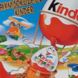 Kinder  Διόραμα  για παιχνίδι με τις φιγούρες