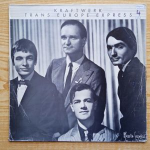 KRAFTWERK -  Trans Europe Express (1977) Δισκος Βινυλιου Electronic Electro-Pop