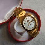 Καινούριο Vintage Orient Crystal 21 jeweles Αυτόματο αντρικο ρολόι 1970s
