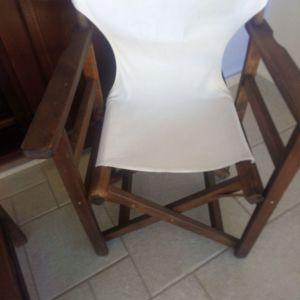 Καρέκλες Ξύλινες Σκηνοθέτη - ΗΛΕΚΤΡΑ Ε104 + Τραπέζια Ξύλινα Χαμηλά Τετράγωνα - ΕΛΕΚΤΡΑ ΕΠΙΠΛΑ