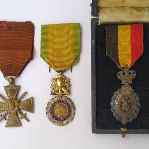 Μετάλλια εποχής Α' Παγκόσμιου Πολέμου