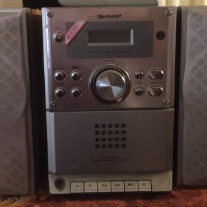 Sharp CD player με 2 ηχεία