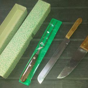 11 Επαγγελματικά μαχαίρια και εργαλεία κουζίνας καινούργια