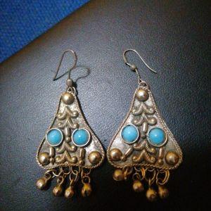 Vintage σκουλαρίκια ασημένια