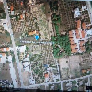 Οικόπεδο, στην Κάτω Αλμυρή Κορινθίας, 503 τ.μ., γωνιακό και οικοδομήσιμο.