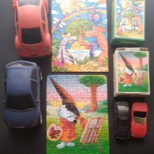 Αυτοκινητάκια & παζλ