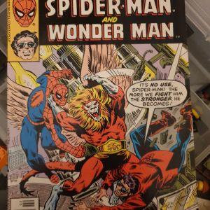 Spiderman & Wonderman, marvel comics 1978