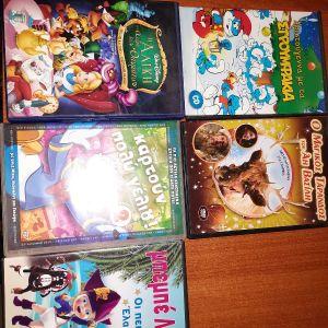 5 παιδικά dvd