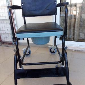 αναπηρική καρέκλα μαι τουαλέτα