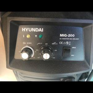 Ηλεκτροκόλληση  HYUNDAI  INVERTER ΚΑΙΝΟΥΡΙΑ ΑΧΡΗΣΙΜΟΠΟΙΗΤΗ