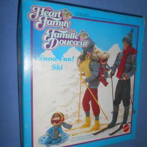 THE HEART FAMILY 3147 SKI FUN