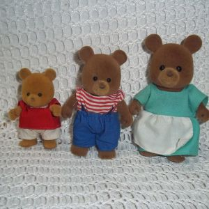 VINTAGE  SYLVANIAN FAMILLY  ΑΡΚΟΥΔΑΚΙΑ