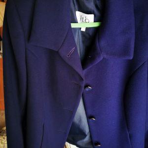 Σακάκι γυναικείο χρώματος μπλε-μοβ