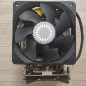 Ψύκτρα Xigmatek με 2 ανεμιστήρες Cooler Master