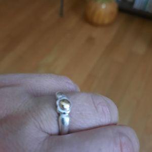 Ασημενιο δαχτυλίδι