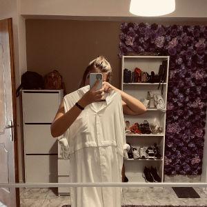 Φόρεμα - πουκάμισο ασπρο