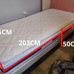 Πωλείται σετ παιδικού/εφηβικού δωματίου (κρεβάτι, στρώμα, κομοδίνο, βιβλιοθήκη)