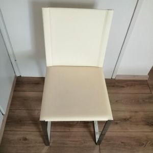 καρέκλες δερμάτινες