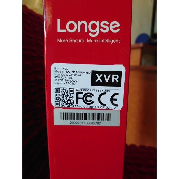Longse XVRDA2004HD-V2 katagrafiko (CCTV)