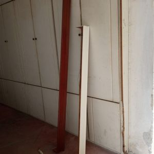Δυο Κορνίζες κουρτίνας ξύλινες
