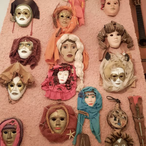 Hand-made Masks for decoration( Limited )