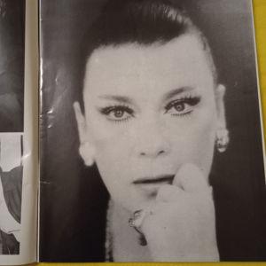 θεατρικό πρόγραμμα του 1981 με την Τζένη Καρέζη και Κώστα καζακο
