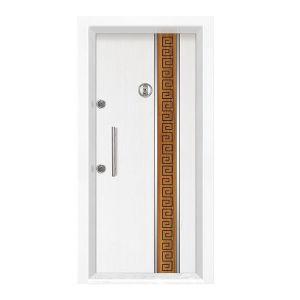 """Πόρτα Ασφαλείας """"Ρόδος"""" με Ενεργειακή Ενίσχυση και Θωράκιση"""