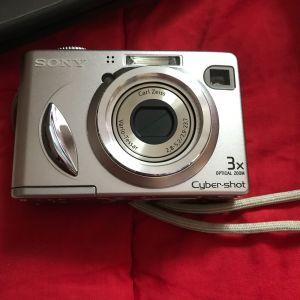 Ψηφιακή φωτογραφική μηχανή SONY με θηκη