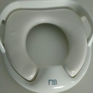 Mothercare κάθισμα τουαλέτας με χερούλια - λευκό