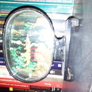 Τοπίο κινέζικης μικρογλυπτικής 2 σε γυάλινο πλαίσιο