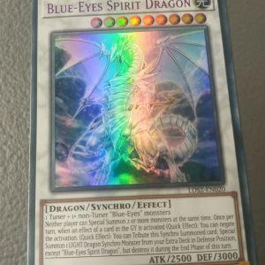 Blue-Eyes Spirit Dragon (Purple Ultra Rare)