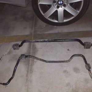 Αντιστρεπτικές ραβδοι / ζαμφόρ / BMW 320 coupe E46