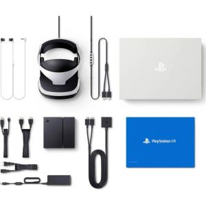 PS4 VR headset + ps4 camera + ps4 twine move controller