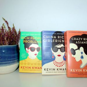 Crazy Rich Asians: Complete Trilogy Collection Set, by Kevin Kwan (Paperback)
