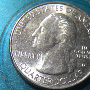 Quarter dollar 2018D