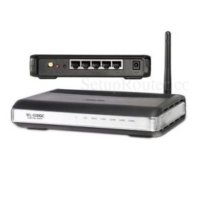 ASUS WL-520gC - wireless router - 802.11b/g
