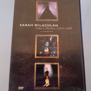 Sarah McLachlan video collection 1989-1998 dvd